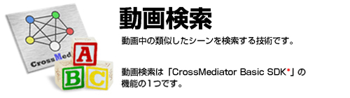 CrossMediator 動画検索