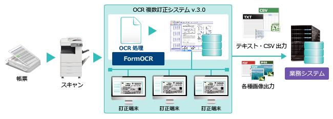 システム構築例 OCR複数訂正シス...